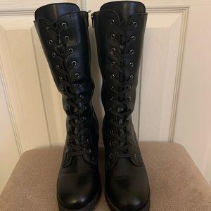 Lace up combat boots ✨
